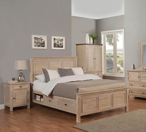 Solana Bed w/ storage options