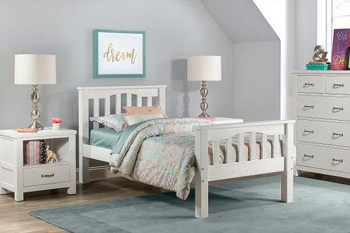 Lakehouse Harper Bed White