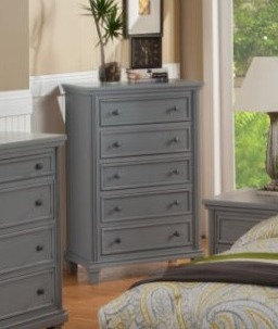 Mission 5 Drawer Chest
