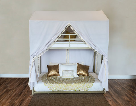 Twin/Twin Tent Bunk Bed