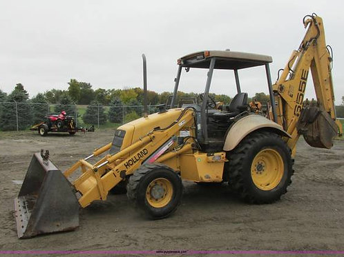 Used 2006 New Holland 655E Backhoe Loader