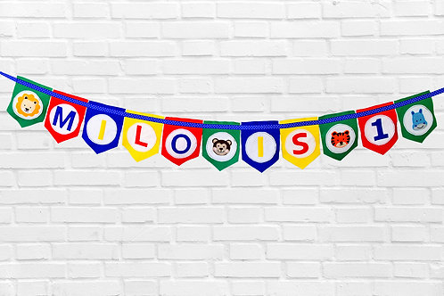 Personalised Age Bunting