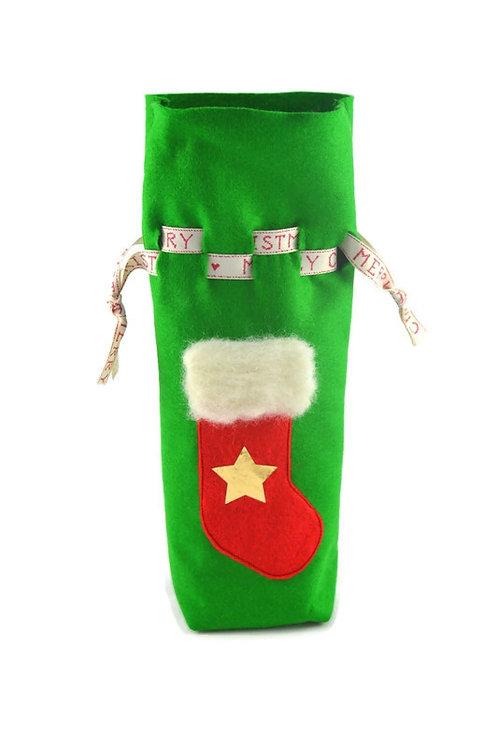 Wine Bottle Holder - Stocking