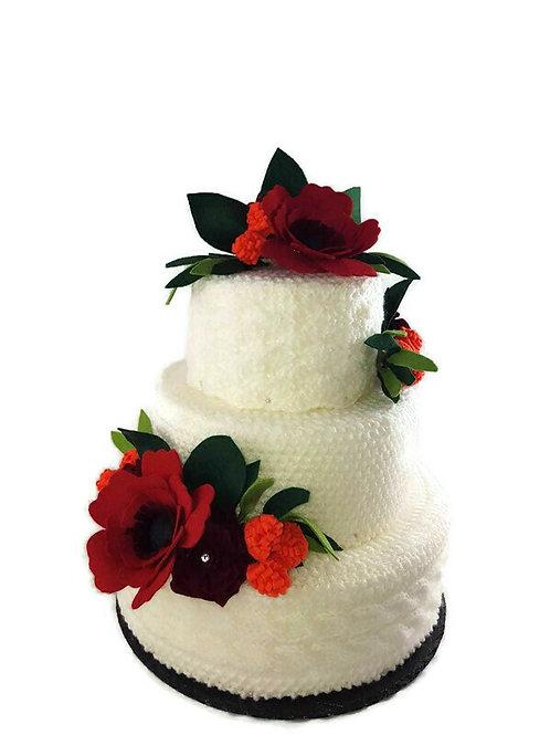 Crochet Cake (Red)