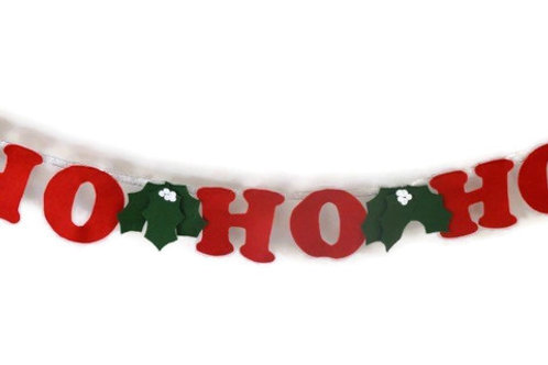 Ho Ho Ho Bunting