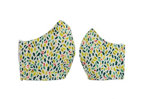 Mistletoe Fashion Mask Matching Set