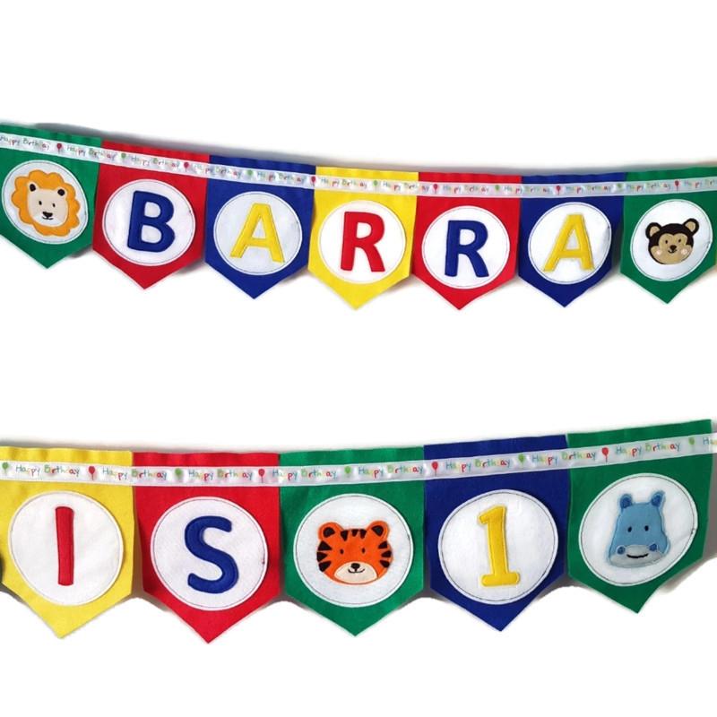 Barra Birthday bunting