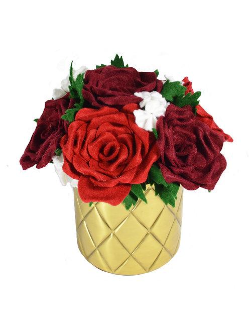Rose Gold Pot