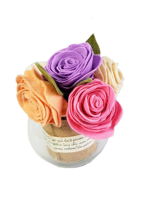 Mini Rose Jar