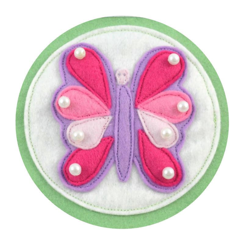 Felt Butterfly Bunting
