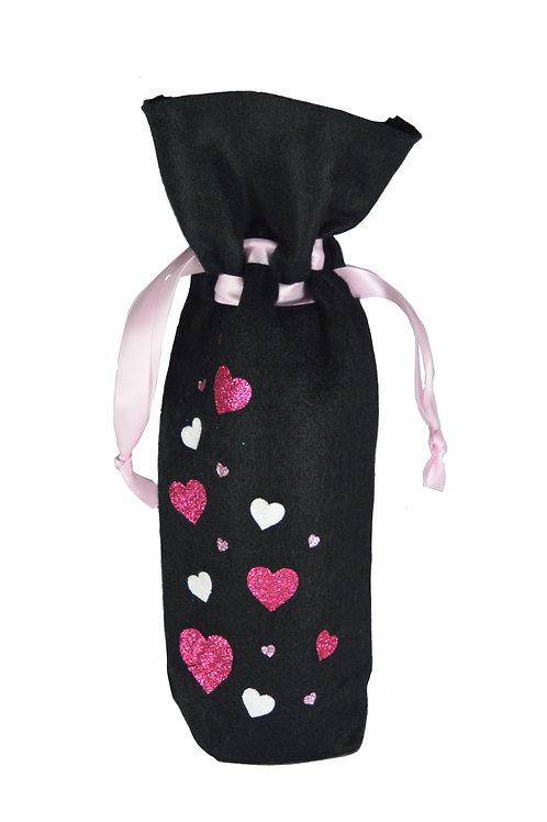 Hearts Bottle Bag