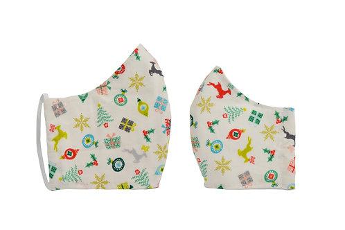 Presents Fashion Mask Matching Set