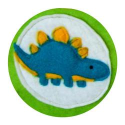 Felt Stegasaurus Bunting