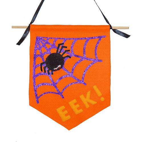 Halloween Spider Flag