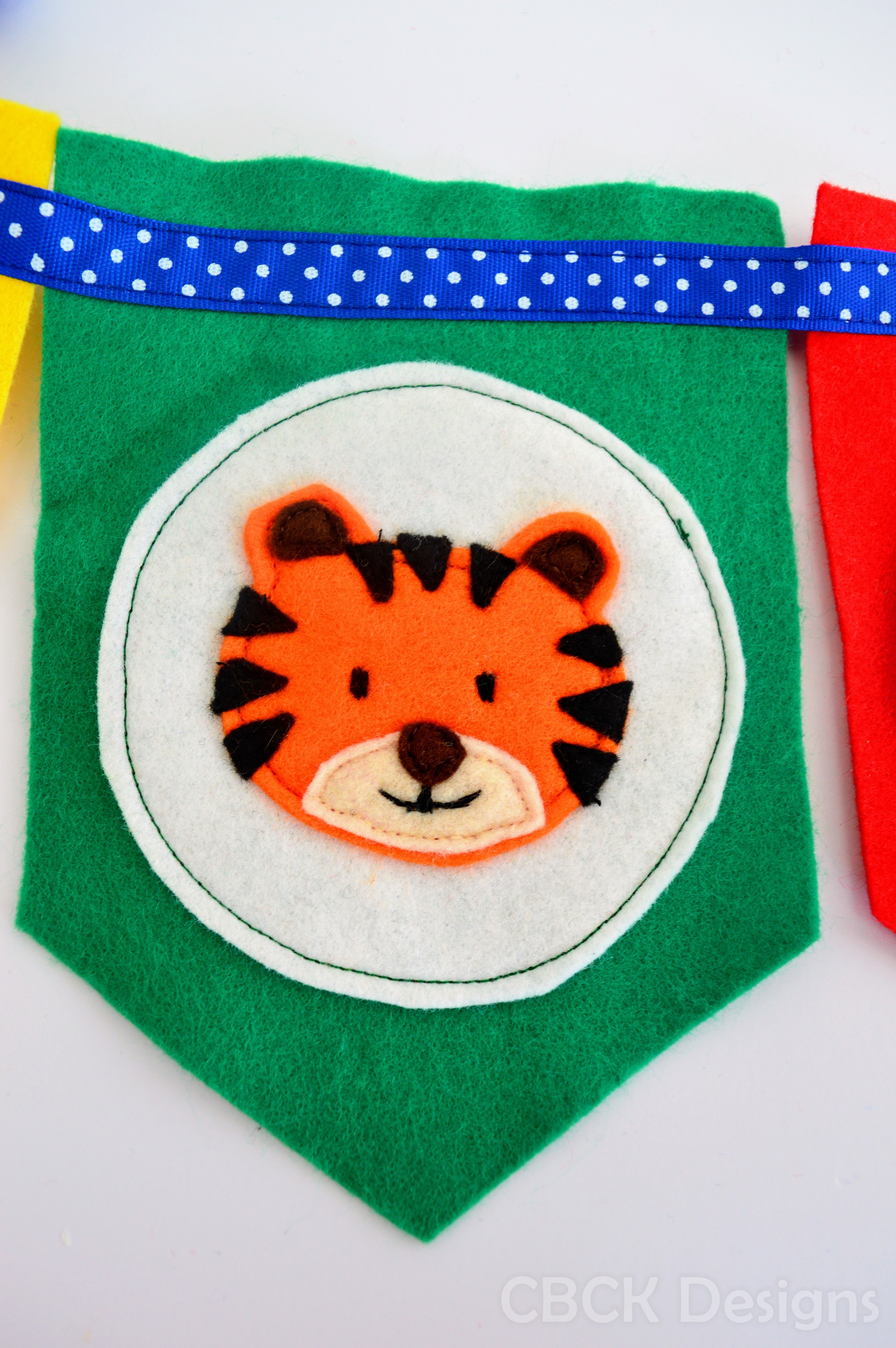 TigerBirthdayBunting1