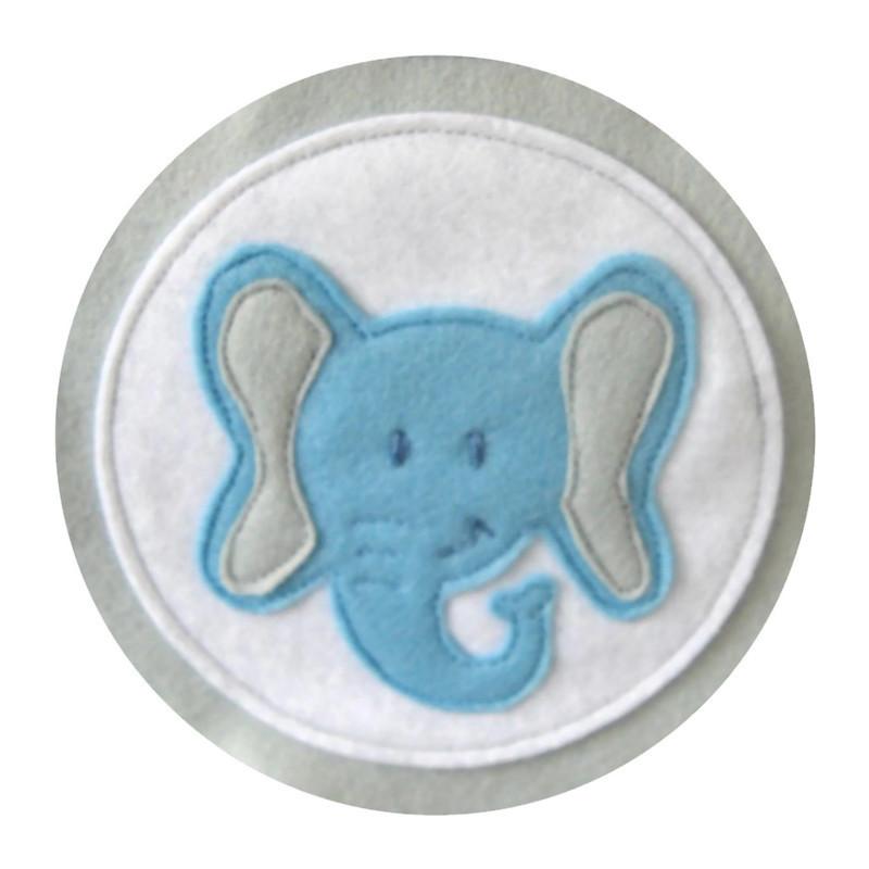 Felt Elephant Bunting