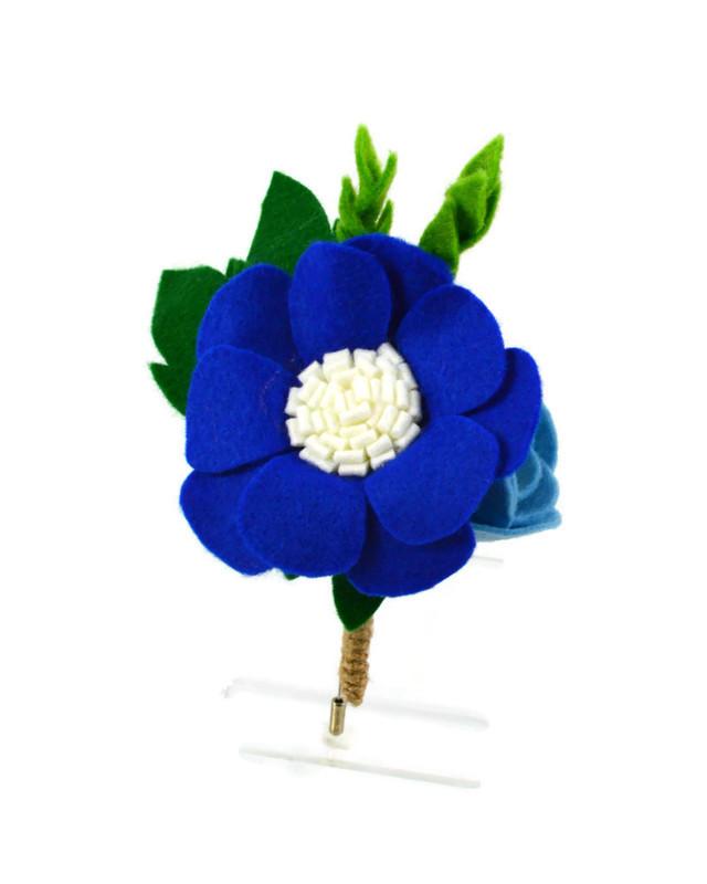 BlueBoutonierre