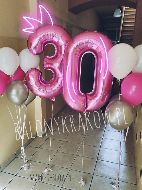 Zestaw balonów na 30 urodziny (#47)