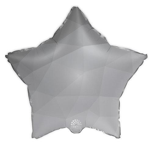 Gwiazda srebrny gradient (48 cm.)