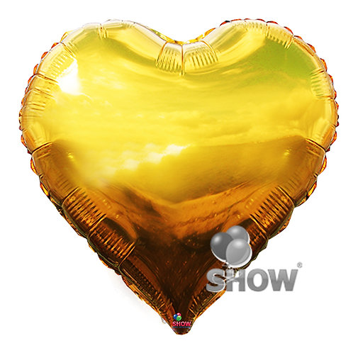 Serce złote (48 cm.)