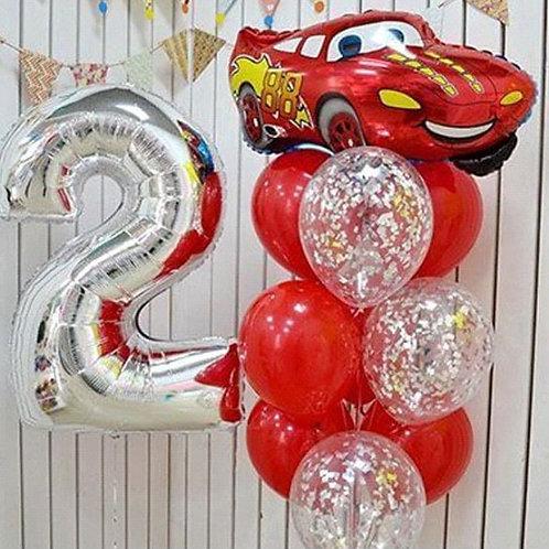 Zestaw balonów na 2 urodziny (#16)