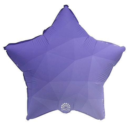 Gwiazda fioletowy gradient (48 cm.)