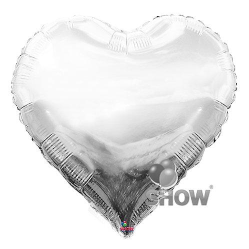 Serce srebrne (48 cm.)
