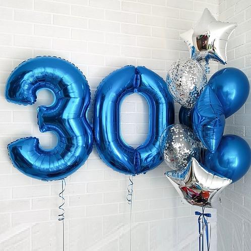Zestaw balonów na 30 urodziny (#29)