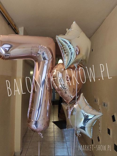 Zestaw balonów na 7 urodziny (#46)