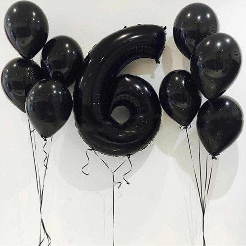 Zestaw balonów na 6 urodziny (#21)