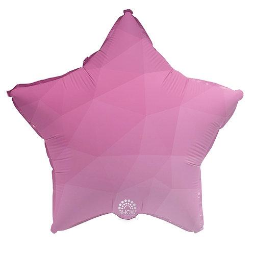 Gwiazda różowy gradient (48 cm.)