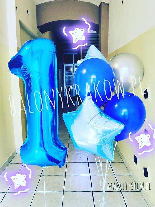 Zestaw balonów na 1 urodziny (#48)
