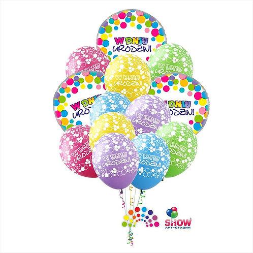Zestaw Balonów Urodzinowych #1