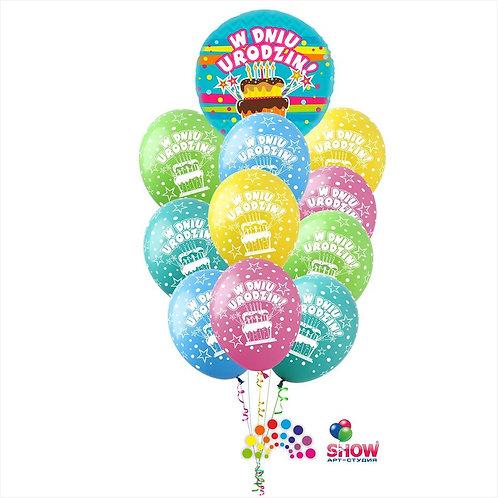 Zestaw Balonów Urodzinowych #2