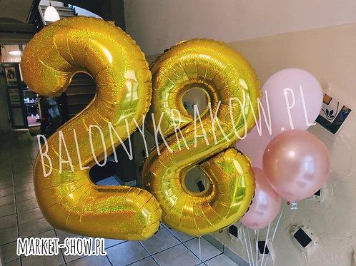 Zestaw balonów na 28 urodziny (#49)