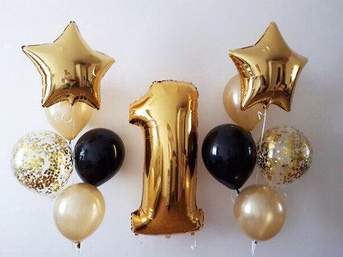 Zestaw balonów na 1 urodziny (#14)