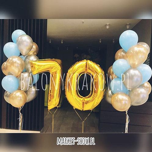 Zestaw balonów na 70 urodziny (#55)