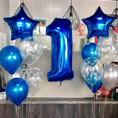 Zestaw balonów na 1 urodziny (#17)