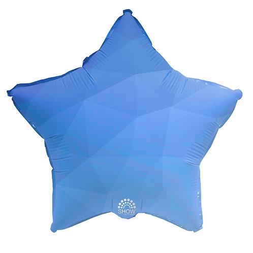 Gwiazda Niebieski gradient (48 cm.)