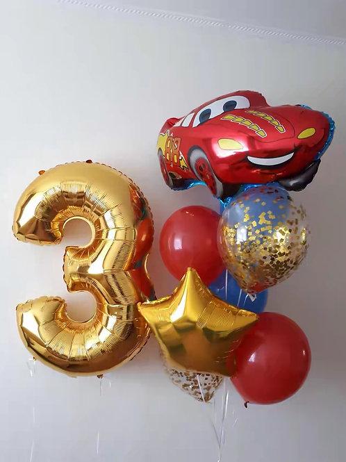 Zestaw balonów na 3 urodziny (#18)
