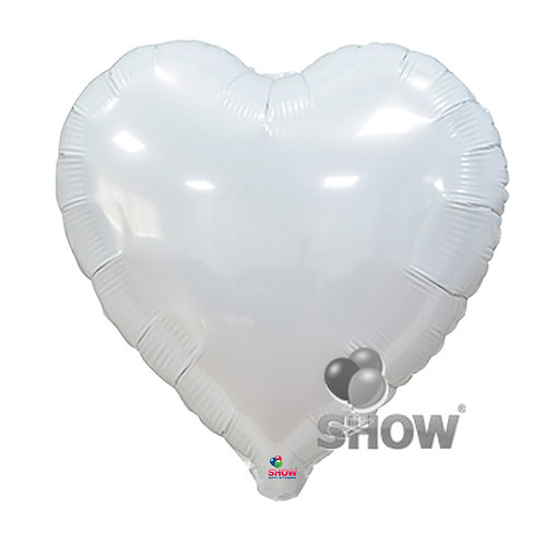 Serce białe (48 cm.)