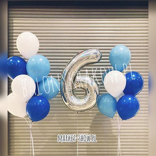 Zestaw balonów na 6 urodziny (#53)