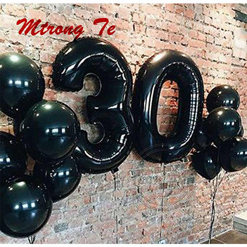 Zestaw balonów na 30 urodziny (#32)