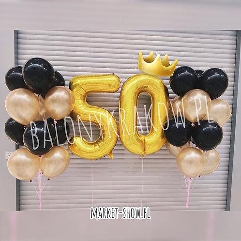 Zestaw balonów na 50 urodziny (#51)