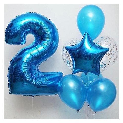 Zestaw balonów na 2 urodziny (#6)