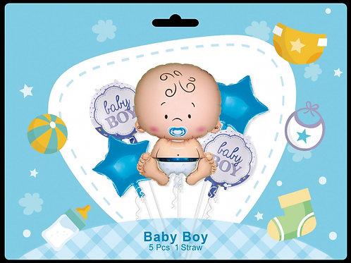 Zestaw balonów Narodziny Chłopca (#60)