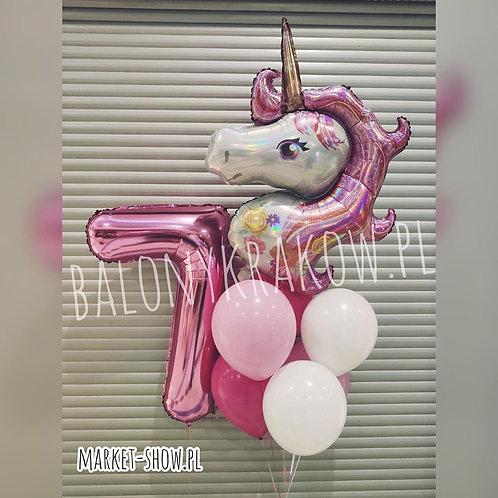 Zestaw balonów na 7 urodziny (#54)