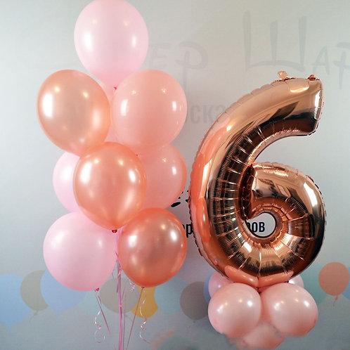 Zestaw balonów na 6 urodziny (#22)