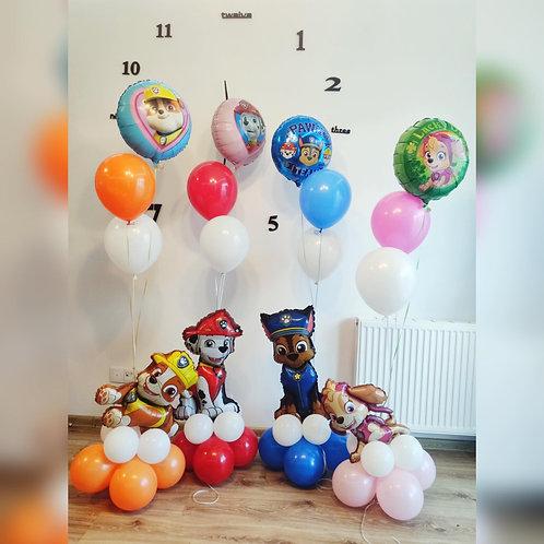 "Zestawy balonów #63 ""PSI PATROL"""