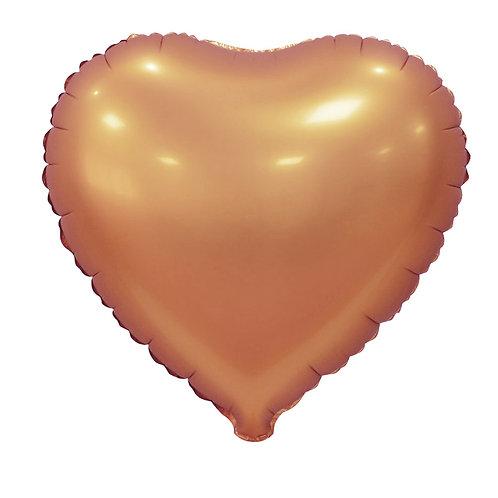 Serce brązowe (48 cm.)